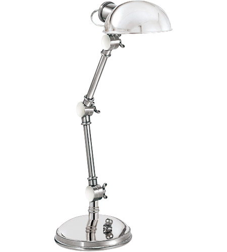 Visual Comfort SL3025PN E. F. Chapman Pixie 13 inch 25 watt Polished Nickel Task Table Lamp Portable Light photo