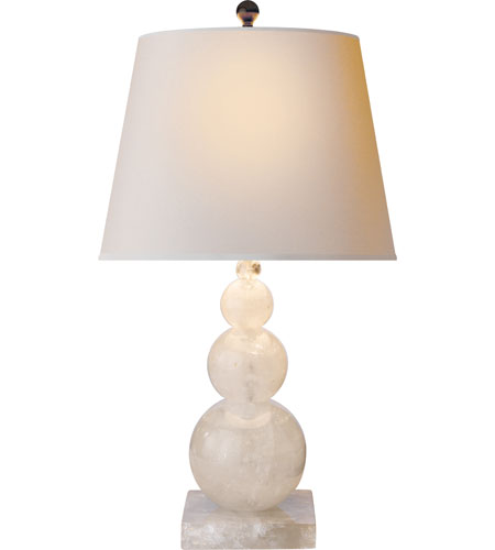 Superieur Visual Comfort SL3805Q NP Studio Stacked 24 Inch 75 Watt Natural Quartz Stone  Table Lamp