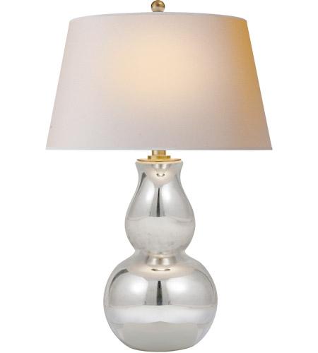 Visual Comfort Sl3811mg Np E F Chapman Gourd 30 Inch 150 Watt Mercury Glass Table Lamp Portable Light