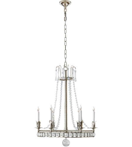 Visual comfort sn5107pn joe nye regency 6 light 22 inch polished visual comfort sn5107pn joe nye regency 6 light 22 inch polished nickel chandelier ceiling light in none mozeypictures Choice Image