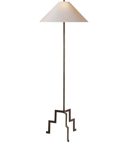 Visual Comfort SP1000AI-NP Studio Lancaster 64 inch 75 watt Aged Iron with Wax Decorative Floor Lamp Portable Light photo
