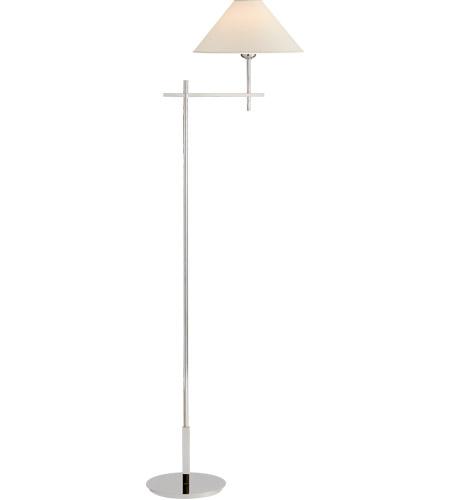 Visual Comfort Sp1023pn Np J Randall S Hackney 52 Inch 40 Watt Polished Nickel Floor Lamp Portable Light