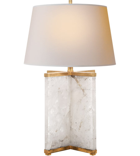 Visual Comfort SP3005Q-NP J. Randall Powers Cameron 28 inch 150 watt Natural Quartz Stone Decorative Table Lamp Portable Light photo