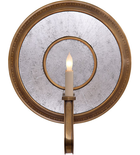 Visual Comfort SR2013HAB John Rosselli Lucy 1 Light 14 inch Hand-Rubbed Antique Brass Decorative Wall Light photo
