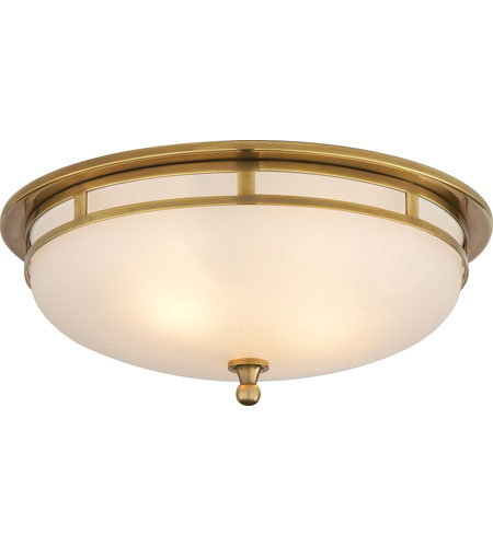 Visual comfort ss4011hab fg studio openwork 2 light 14 inch hand visual comfort ss4011hab fg studio openwork 2 light 14 inch hand rubbed antique brass flush mount ceiling light mozeypictures Images