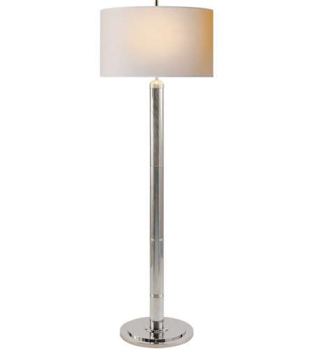 Visual Comfort TOB1000PN-NP Thomas O'Brien Longacre 65 inch 75 watt Polished Nickel Decorative Floor Lamp Portable Light photo