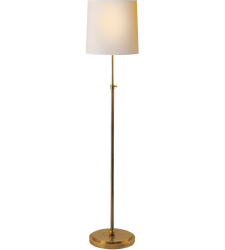 Visual Comfort Tob1002hab Np Thomas Obrien Bryant 44 Inch 150 Watt Hand Rubbed Antique Br Decorative Floor Lamp Portable Light