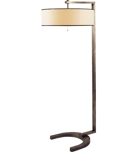 Visual Comfort TOB1004BZ-NP/BT Thomas OBrien Hudson 60 inch 40 watt Bronze Decorative Floor Lamp Portable Light in Natural Paper photo