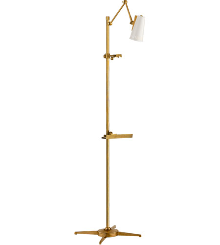 Hand-Rubbed Antique Brass Floor Lamps
