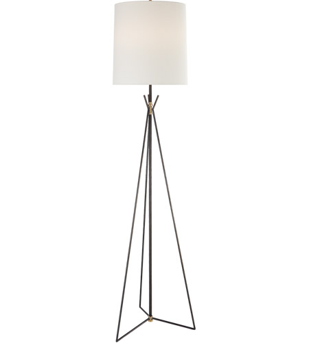 Visual Comfort TOB1390AI/HAB-L Thomas O'Brien Tavares 71 inch 100 watt Aged Iron Floor Lamp Portable Light, Large photo