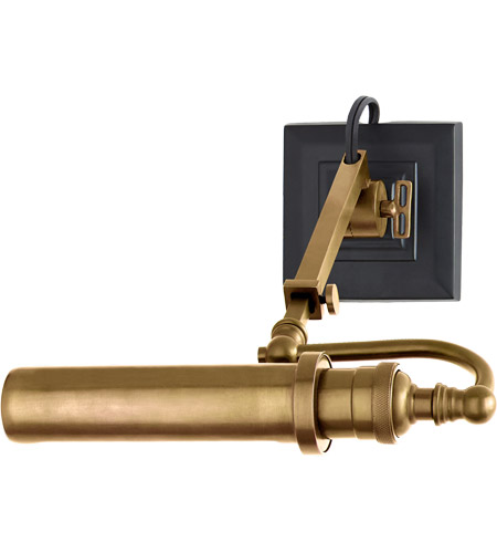 Visual Comfort TOB2000HAB Thomas OBrien Academy 40 watt 9 inch Hand-Rubbed Antique Brass Picture Light Wall Light photo