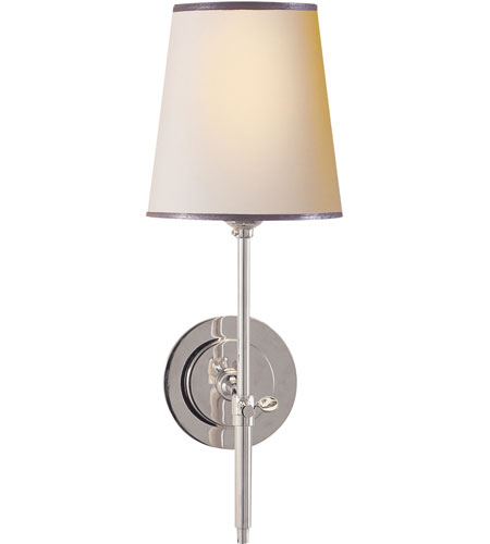 Visual Comfort TOB2002PN-NP/ST Thomas OBrien Bryant 1 Light 6 inch Polished Nickel Decorative Wall Light photo