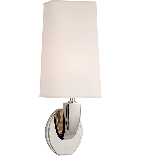 Visual Comfort TOB2036PN-NP Thomas O'Brien Chantal 1 Light 6 inch Polished Nickel Decorative Wall Light photo