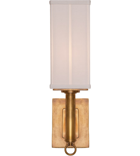 Visual Comfort TOB2130HAB-S Thomas OBrien Germain 1 Light 4 inch Hand-Rubbed Antique Brass Decorative Wall Light photo