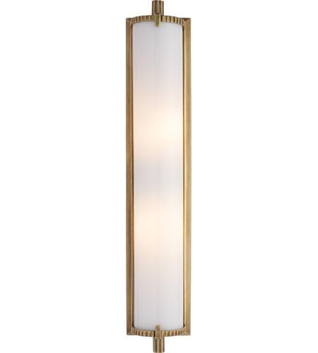 Visual Comfort Tob2185hab Wg Thomas Obrien Calliope 2 Light 4 Inch Hand Rubbed Antique Brass