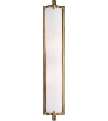 Visual Comfort TOB2185HAB-WG Thomas O'Brien Calliope 2 Light 4 inch Hand-Rubbed Antique Brass Bath Wall Light photo