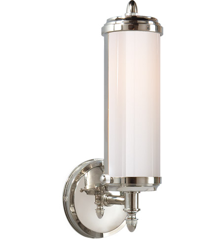 Visual Comfort TOB2206CH-WG Thomas O'Brien Merchant 1 Light 5 inch Chrome Bath Wall Light photo