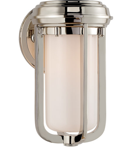 Visual Comfort TOB2210PN-WG Thomas O'Brien Milton 1 Light 6 inch Polished Nickel Decorative Wall Light photo