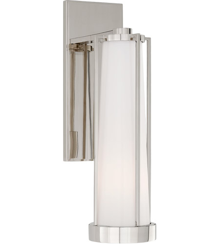 Thomas OBrien Calix LED 5 inch Polished Nickel Bracketed Bath Sconce Wall  Light
