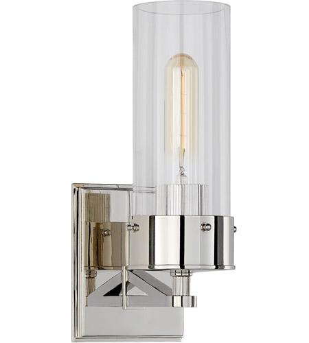 Visual Comfort TOBPNCG Thomas OBrien Marais Light Inch - Polished nickel bathroom sconces