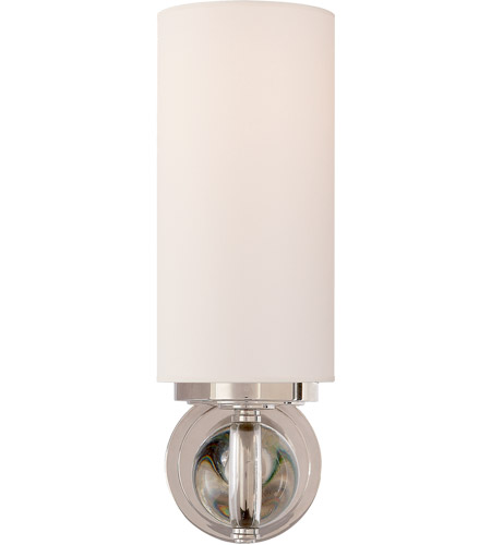 Visual Comfort TOB2380CG-NP Thomas O'Brien Bijon 1 Light 5 inch Clear Glass Decorative Wall Light photo