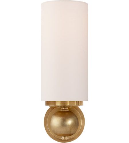 Visual Comfort TOB2380HAB-NP Thomas O'Brien Bijon 1 Light 5 inch Hand-Rubbed Antique Brass Decorative Wall Light photo