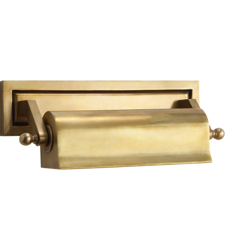 Visual Comfort Thomas OBrien Library 1 Light Picture Light in Hand-Rubbed Antique Brass TOB2604HAB photo