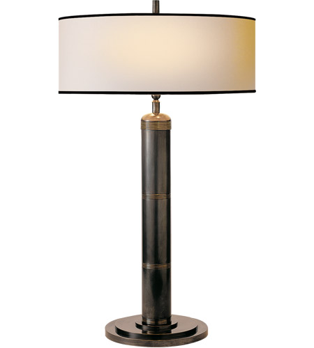 Visual Comfort TOB3001BZ-NP/BT Thomas O'Brien Longacre 33 inch 60 watt Bronze Decorative Table Lamp Portable Light photo