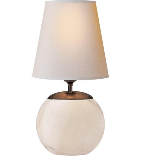 Visual Comfort Tob3014alb Np Thomas O Brien Terri 13 Inch 60 00 Watt Alabaster Accent Lamp Portable Light
