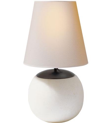 Visual comfort tob3023alb np thomas obrien terri 15 inch for Natural stone lighting