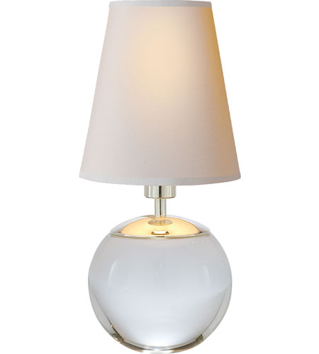 Visual comfort tob3051cg np thomas obrien terri 10 inch 25 for 10 inch table lamp