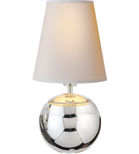 Visual comfort tob3051pn np thomas obrien terri 10 inch 40 for 10 inch table lamp