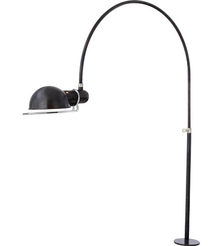 Visual Comfort TOB3066BZ/PN Thomas OBrien Elkins 36 inch 60 watt Bronze with Polished Nickel Task Table Lamp Portable Light photo