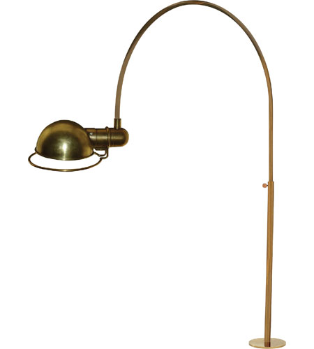 Visual Comfort Thomas OBrien Elkins 1 Light Task Table Lamp in Hand-Rubbed Antique Brass TOB3066HAB photo