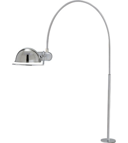 Visual Comfort Thomas OBrien Elkins 1 Light Task Table Lamp in Polished Nickel TOB3066PN photo