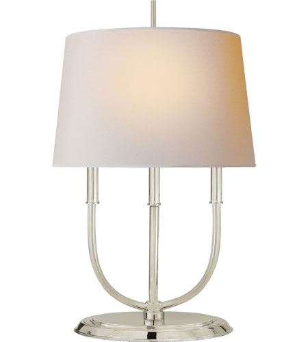 Visual Comfort TOB3163PS-NP Thomas OBrien Calliope 29 inch 40 watt Polished Silver Decorative Table Lamp Portable Light in (None) photo