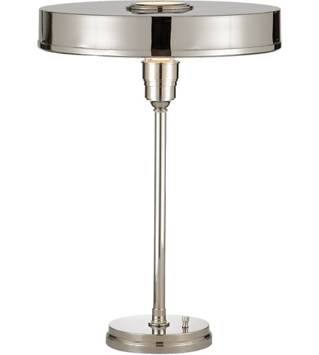 Visual comfort tob3190pn thomas obrien carlo 21 inch 60 watt visual comfort tob3190pn thomas obrien carlo 21 inch 60 watt polished nickel task table lamp portable aloadofball Gallery