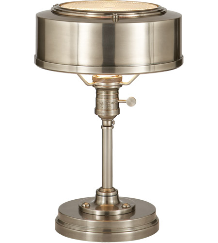 Visual comfort tob3197an thomas obrien henley 13 inch 60 watt visual comfort tob3197an thomas obrien henley 13 inch 60 watt antique nickel task table lamp portable light mozeypictures Image collections