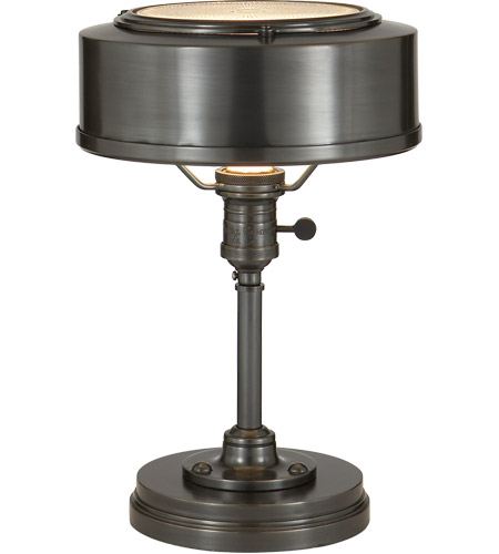 Visual Comfort TOB3197BZ Thomas O'Brien Henley 13 inch 60 watt Bronze Task Table Lamp Portable Light photo