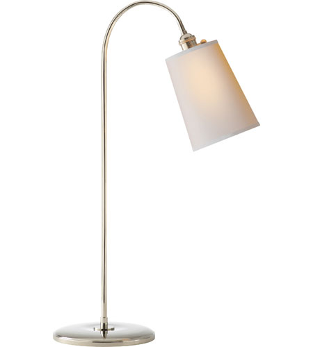 Visual comfort tob3222pn np thomas obrien mia 29 inch 40 watt visual comfort tob3222pn np thomas obrien mia 29 inch 40 watt polished nickel task table lamp portable light aloadofball Gallery