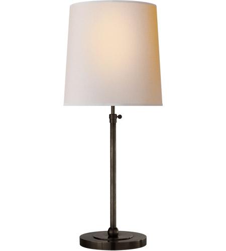 Visual Comfort Tob3260bz Np Thomas Obrien Bryant 28 Inch 60 Watt Bronze Table Lamp Portable