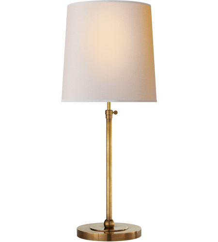 Visual comfort tob3260hab np thomas obrien bryant 28 inch 60 watt visual comfort tob3260hab np thomas obrien bryant 28 inch 60 watt hand rubbed antique brass table lamp portable light large aloadofball