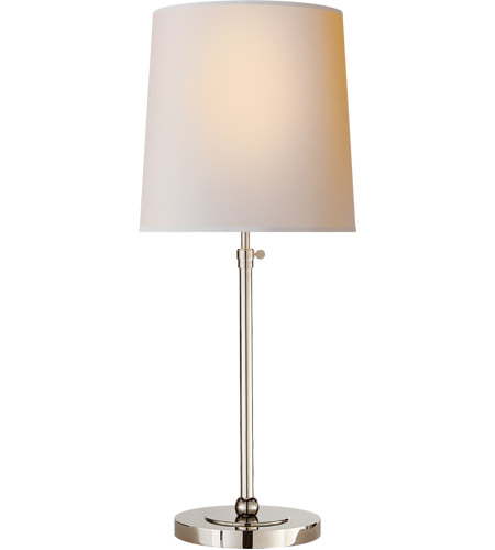 Visual comfort tob3260pn np thomas obrien bryant 28 inch 60 watt visual comfort tob3260pn np thomas obrien bryant 28 inch 60 watt polished nickel table lamp portable light large aloadofball Images