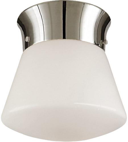 the best attitude 5ad4b 43eff Thomas O'Brien Perry 1 Light 10 inch Polished Nickel Flush Mount Ceiling  Light