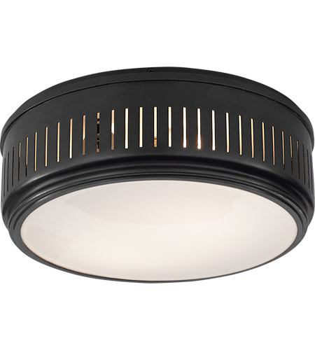 Visual Comfort TOB4162BZ-WG Thomas O'Brien Eden 2 Light 13 inch Bronze Flush Mount Ceiling Light photo