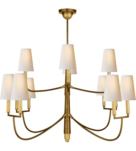 Visual comfort tob5017hab np thomas obrien farlane 12 light 48 inch visual comfort tob5017hab np thomas obrien farlane 12 light 48 inch hand rubbed antique brass chandelier ceiling light in none aloadofball Choice Image