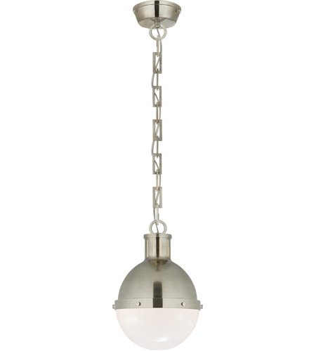 Visual Comfort TOB5062AN-WG Thomas O'Brien Hicks 1 Light 9 inch Antique Nickel Pendant Ceiling Light photo