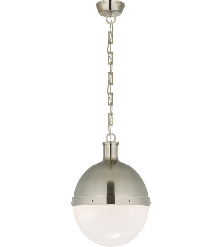 Visual Comfort TOB5063AN-WG Thomas O'Brien Hicks 2 Light 13 inch Antique Nickel Pendant Ceiling Light photo
