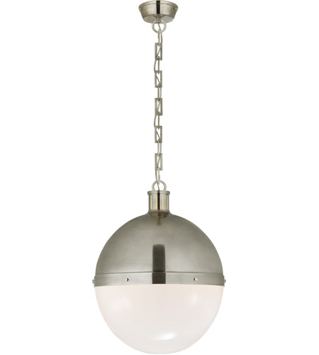 Visual Comfort TOB5064AN-WG Thomas O'Brien Hicks 2 Light 16 inch Antique Nickel Pendant Ceiling Light photo