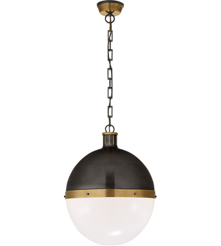 Thomas O Brien Hicks 2 Light 16 Inch Bronze With Antique Br Accents Pendant Ceiling